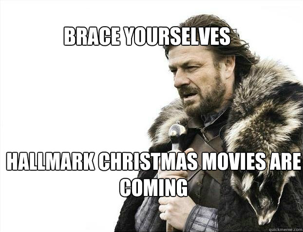 Hallmark Christmas In July Meme.Christmas And Then I Thought