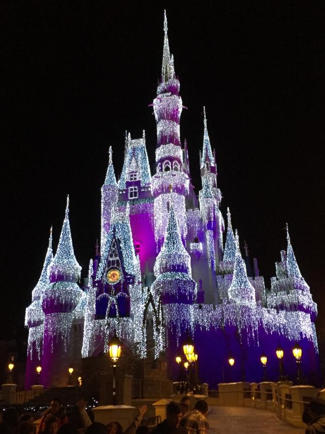 castle - night